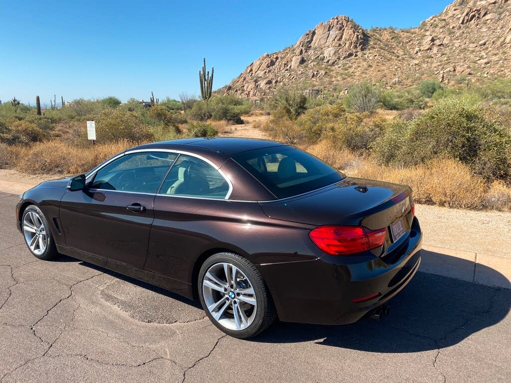2017 BMW 4 Series 2D Convertible- 430I Sport full