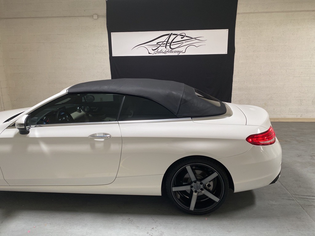 <span>SOLD</span> 2017 Mercedes-Benz C-Class C 300 Cabriolet full