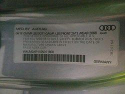 Audi Door Tag