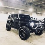 Raised Jeep