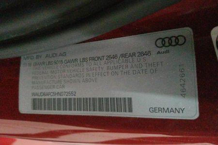 Audi Door Panel